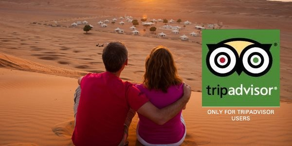 TripAdvisor 15% Special Offer - Desert Nights Camp