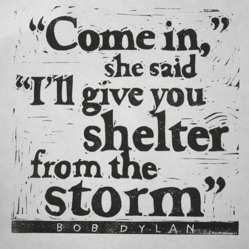 Bob Dylan - Shelter From The Storm Lyrics | MetroLyrics