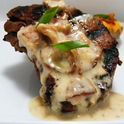 Filet Mignon with Bacon Cream Sauce Allrecipes.com