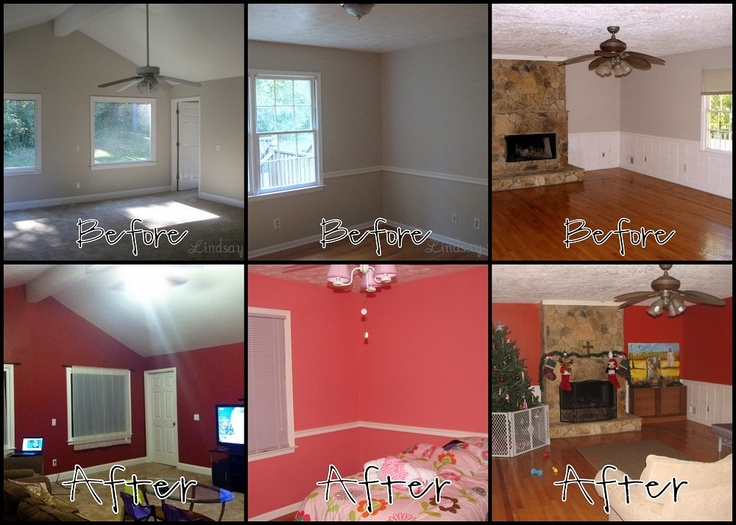 Home Makeover With Behr Paint For The Home Pinterest