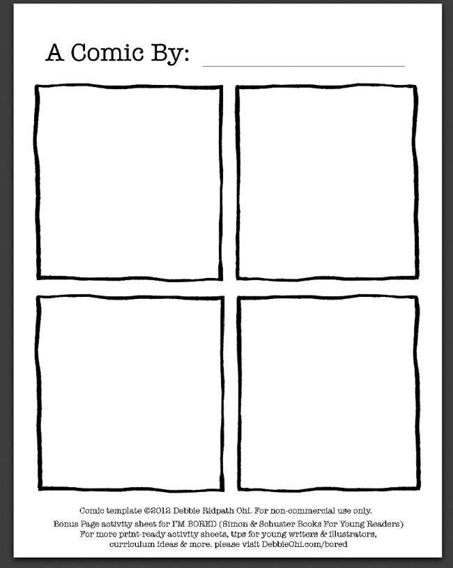 comic book pdf by debbie ridpath ohi teaching language arts pinte