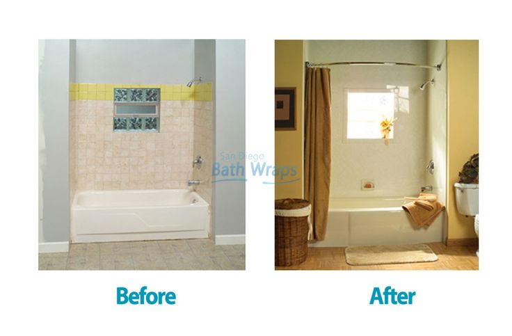 Pin By San Diego Bath Wraps On Before And After Bathroom