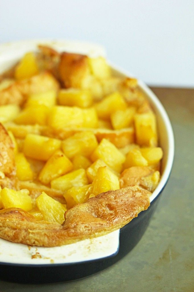 Baked Pineapple French Toast   Recipes: FRENCH TOASTS   Pinterest