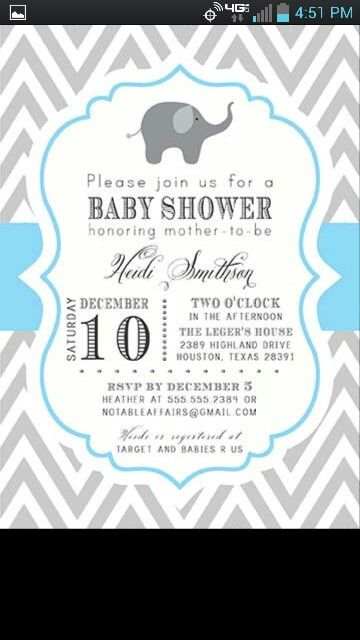work baby shower invite email with beautiful invitation template