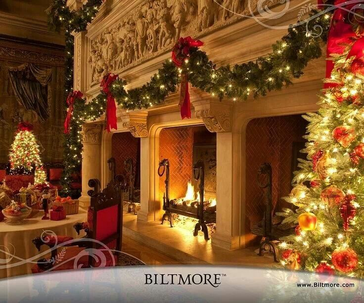 Christmas at biltmore favorite places spaces pinterest for American christmas decoration