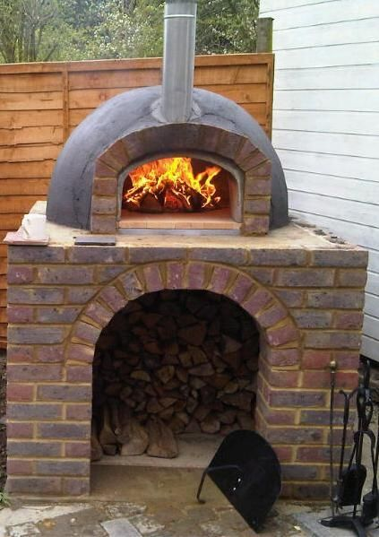 Kl Wood Fired Burning Outdoor Pizza Oven Superior Kit