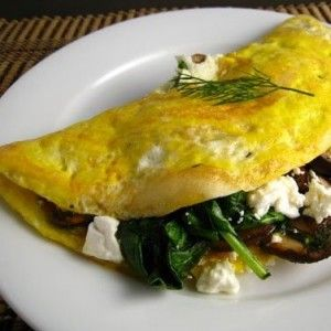 Cheese Steak Omelet with Broccoli Rabe & Aged Provolone • using Old ...