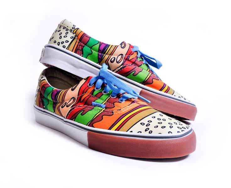 Cool shoes, Vans x The Cobra Snake