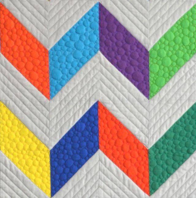 Quilting Designs For Chevron Quilts : Chevron Design Quilt quilting Pinterest