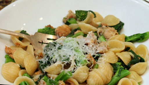 Broccoli Rabe, Sausage and Pasta | Pasta | Pinterest