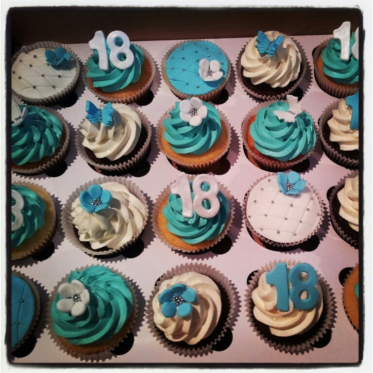 Cupcake Design For Birthday Boy : 18th Cupcakes birthday party ideas Pinterest