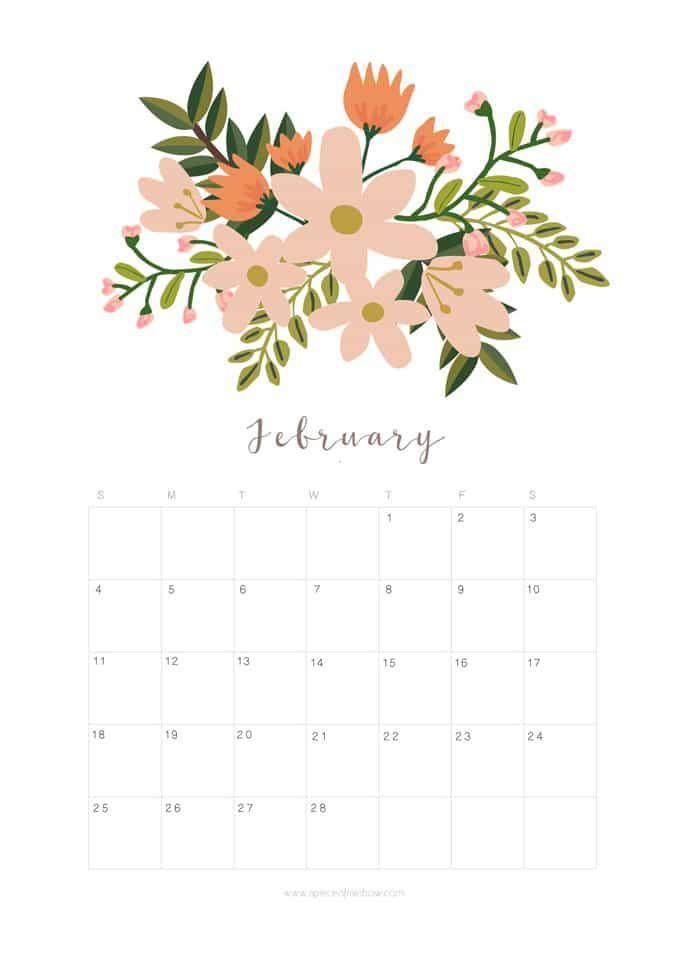 25+ unique February calendar ideas on Pinterest | Free calendar ...