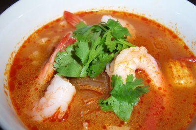 Hot and sour Thai soup | Om nom nom..... | Pinterest