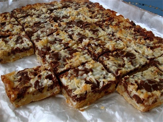 Rich Chocolate Coconut Bars | Desserts and Sweets | Pinterest