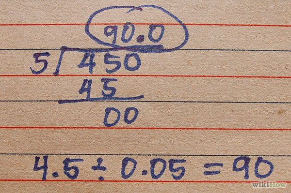 Divide Decimals - wikiHow | What are the odds? (math) | Pinterest