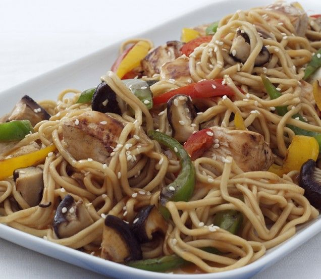Chicken and Noodle Stir-fry | Recipe