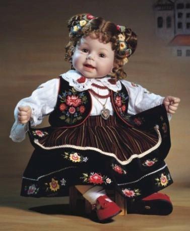 Куклы в Костюмах Народов Мира №12 - Хорватия
