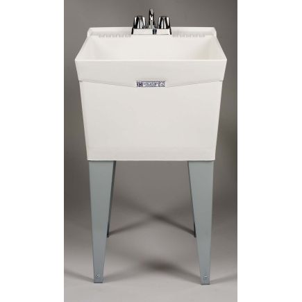 ... art room Molded Single Laundry Tub (19f) - Laundry Tubs - Ace Hardware
