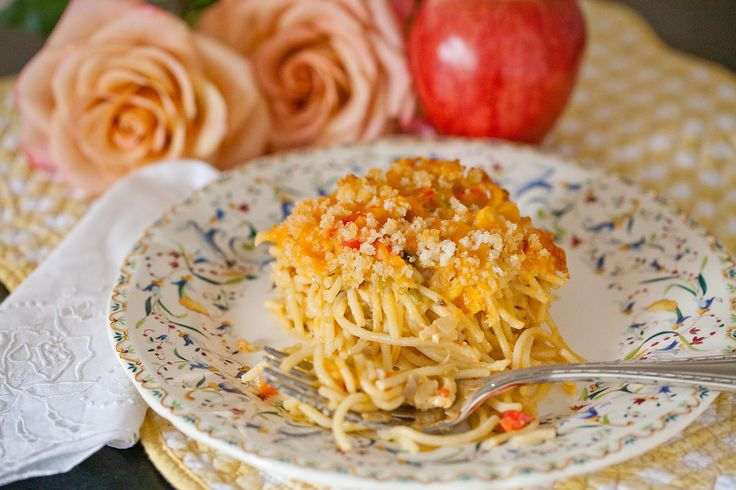 Baked Chicken Spaghetti | Party Time | Pinterest