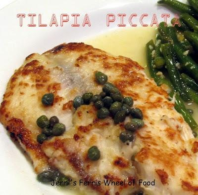 Tilapia Piccata | Food & Cooking | Pinterest