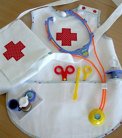 Как сшить медицинский халат своими руками на ребенка 43