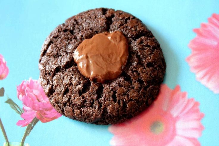 Chocolate Nutella Thumbprint Cookie | NUTELLA | Pinterest