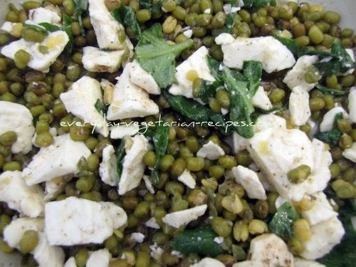 Lentil Salad Recipe With Feta, Lemon and Basil...substituted w/goat ...