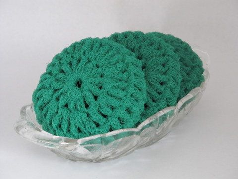 Knitted Scrubbies Free Pattern : CROCHETED SCRUBBIES NET   CROCHET PATTERNS