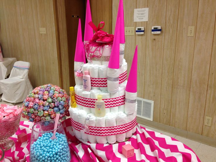Diaper cake from Sydney's baby shower.