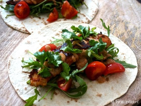 Delicious homemade Blackened Catfish Tacos - #recipe up on # ...