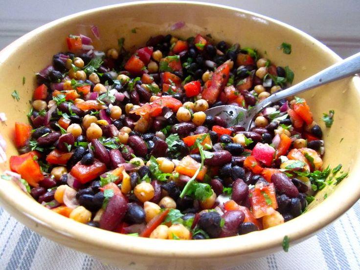Actually good three bean salad | Foodtastic | Pinterest