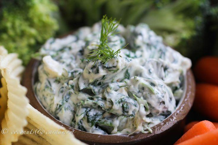 Turkish Spinach Yogurt Dip | Dips | Pinterest