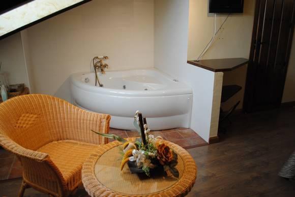 habitaciones con jacuzzi propio: