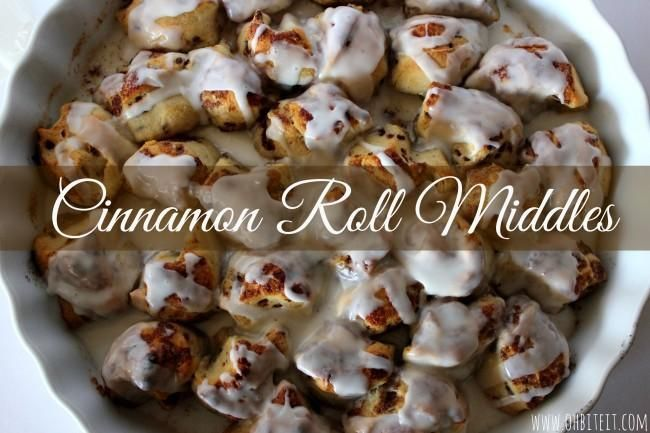 Cinnamon Roll Middles from Oh Bite It. | Beautiful Food! | Pinterest