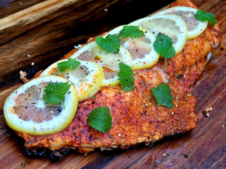 Grilled Redfish On The Half Shell