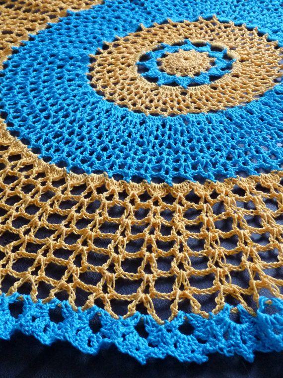 Crochet Thread Doily twenty inches by NancysCrochet on Etsy, $21.00