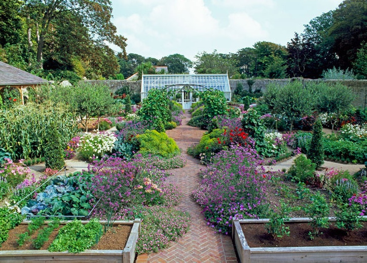 vegetable garden ideas pinterest photograph pretty potager