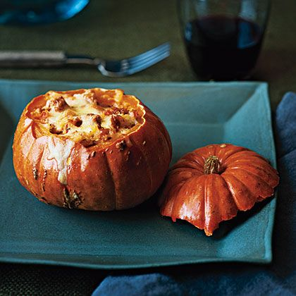 LOVED IT - Quinoa-Stuffed Squash Recipe | MyRecipes.com (add 1/4 C ...