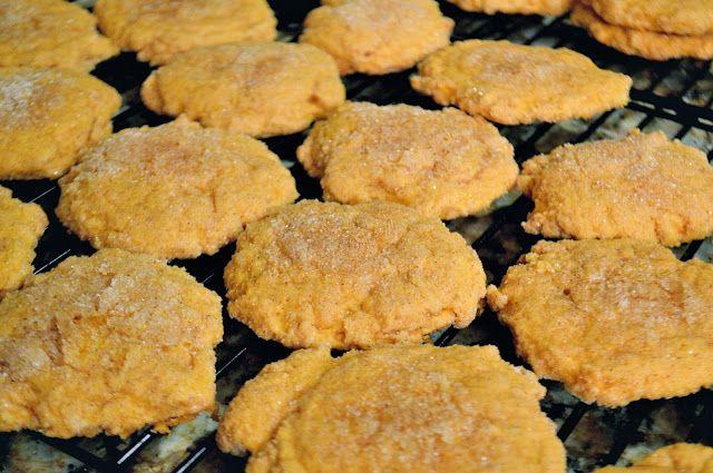 Spiced Pumpkin Sugar Cookies | Food ♥ | Pinterest