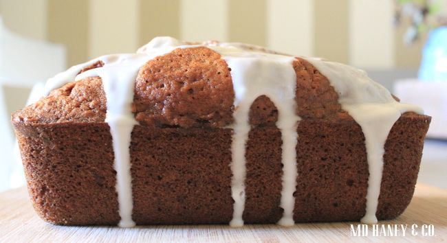 OLIVE OIL PUMPKIN BREAD :: a quick bread recipe - MD Haney & Co.