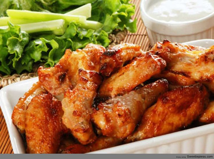 Spicy Ginger Chicken Wings Recipe | SWEETIE PIES RECIPES | Pinterest