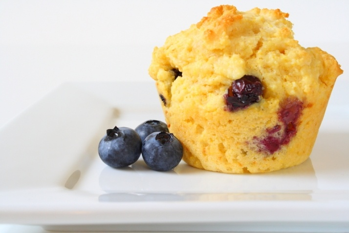 Blueberry corn muffins | Food and recipes | Pinterest