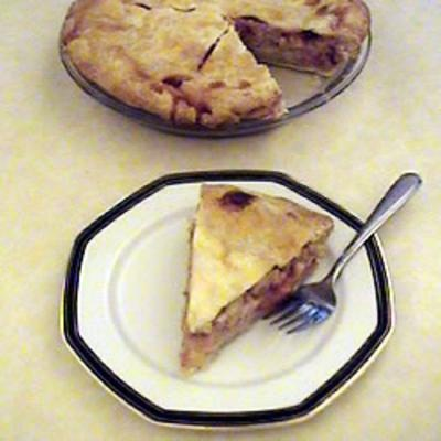 #recipe #food #cooking Strawberry Rhubarb Cream Pie