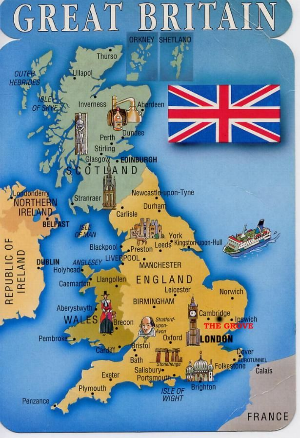 Great Britain Map | Th...