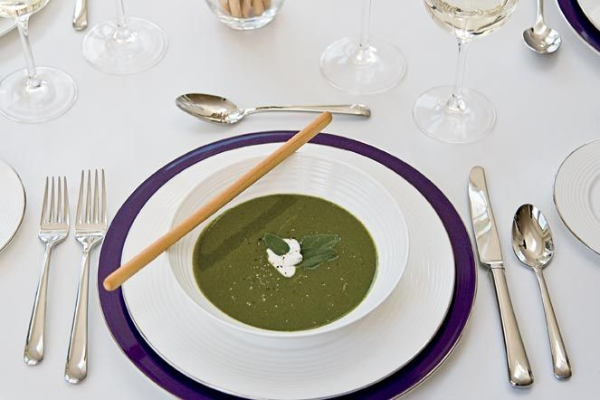 Chilled Watercress and Spinach Soup | Food | Pinterest