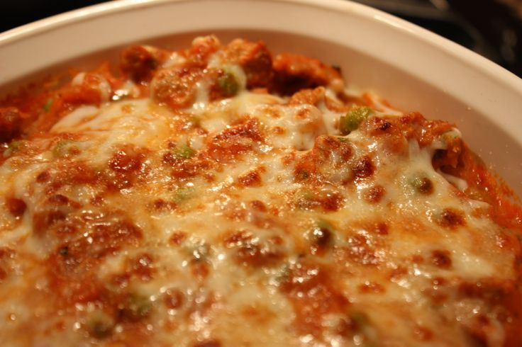 baked spaghetti squash with sausage tomato sauce