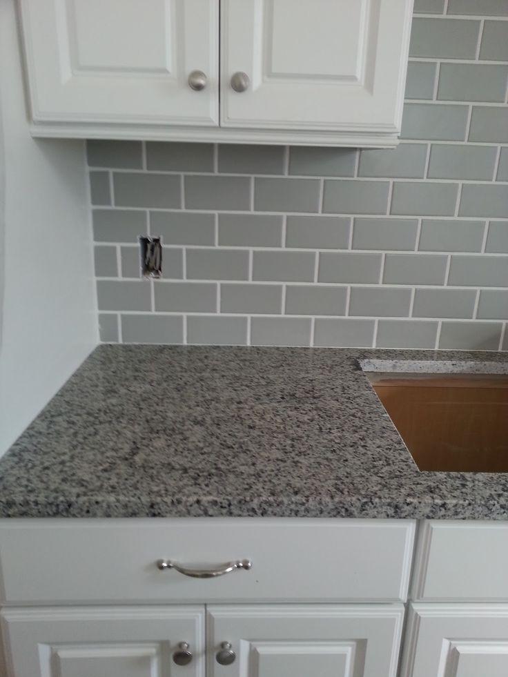 grey subway tile abode pinterest