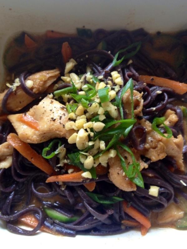 Asian Buckwheat Soba Noodle Bowl, GF   Recipes   Pinterest