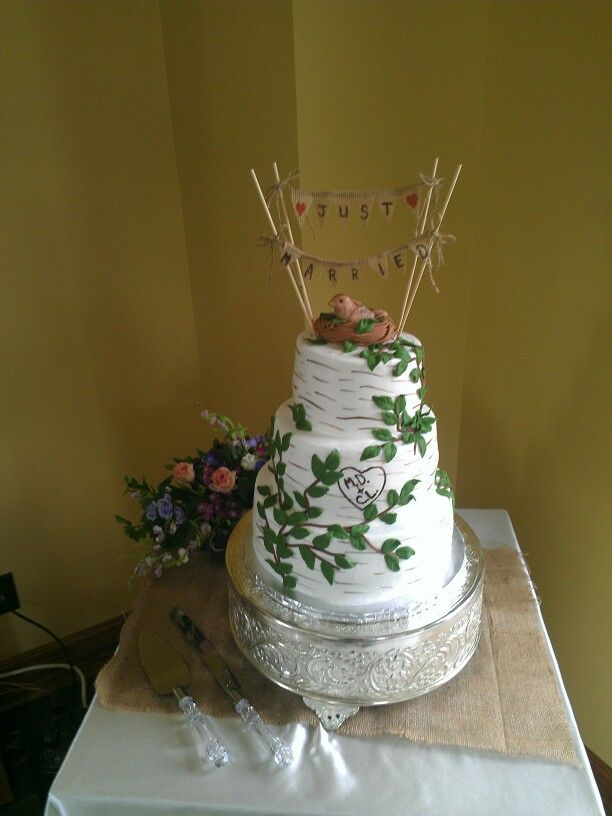 Homemade Wedding Cake Decoration Ideas : Homemade wedding cake Cake Decorating Pinterest