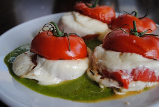 grilled caprese salad by @Cindy Willingham